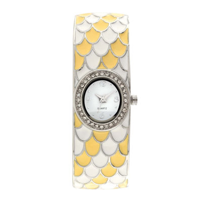 Womens Multicolor Bangle Watch-Jcp1219