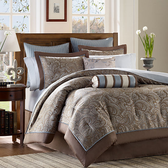4870dd4fdac Whitman 12 pc Jacquard Comforter Set