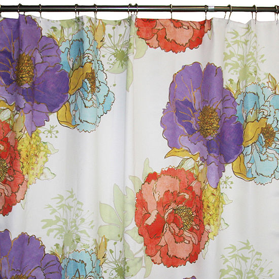 Jcpenney Home Camilles Garden Shower Curtain
