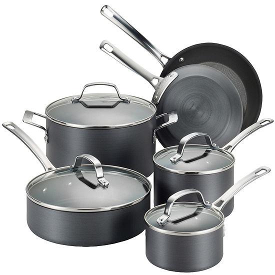 Circulon® Genesis 10-pc. Hard-Anodized Nonstick Cookware Set