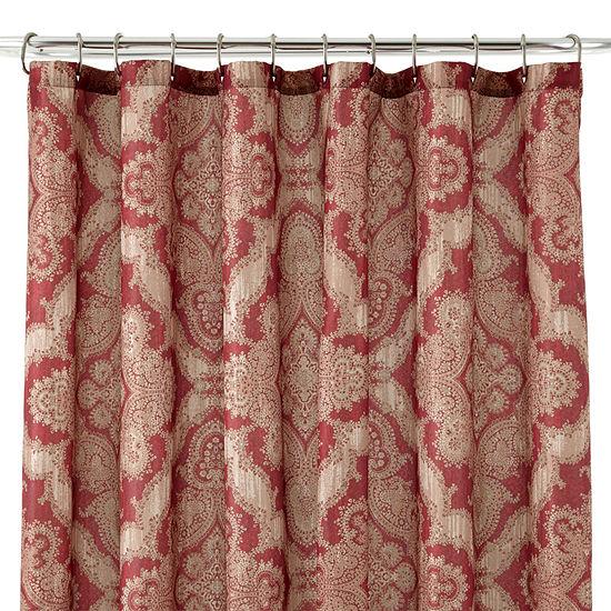 Royal VelvetR Brandywine Shower Curtain