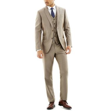 jcpenney.com | JF J. Ferrar® Slim-Fit Luster Herringbone Suit Separates