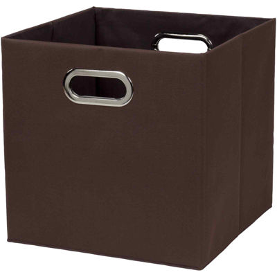 Creative Bath™ Fold N Store Crate Hamper