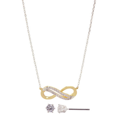 Sparkle Allure Clear 2-pc. Jewelry Set