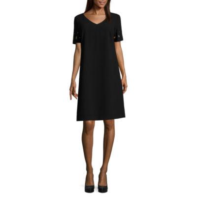 Melrose Short Sleeve Shift Dress