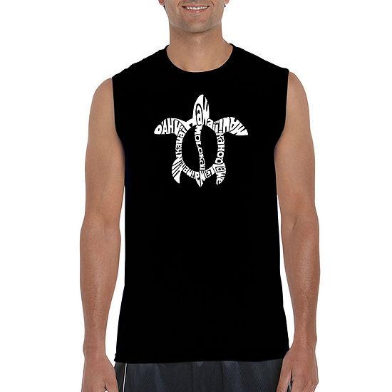 46987807b608d8 Los Angeles Pop Art Mens Crew Neck Sleeveless T-Shirt-Big and Tall -  JCPenney