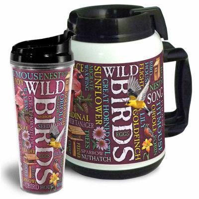 American Expedition Tumbler/Thermal Mug Set - WildBirds