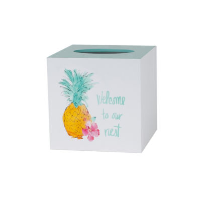 Saturday Knight Flamingo Fever Tissue Box Cover