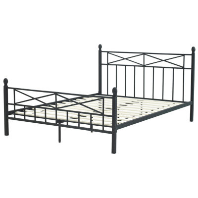 EMILY DECORATIVE METAL  BED QN