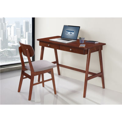 RTA Products LLC Techni Mobili Modern Desk With Storage And Chair Set