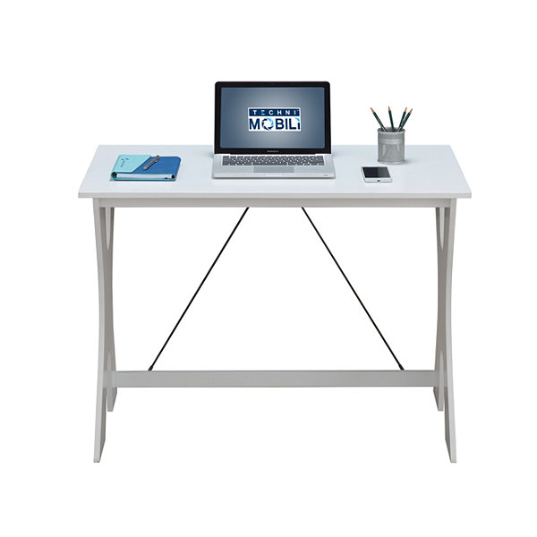RTA Products LLC Techni Mobili Modern Matching Desk And Chair Set