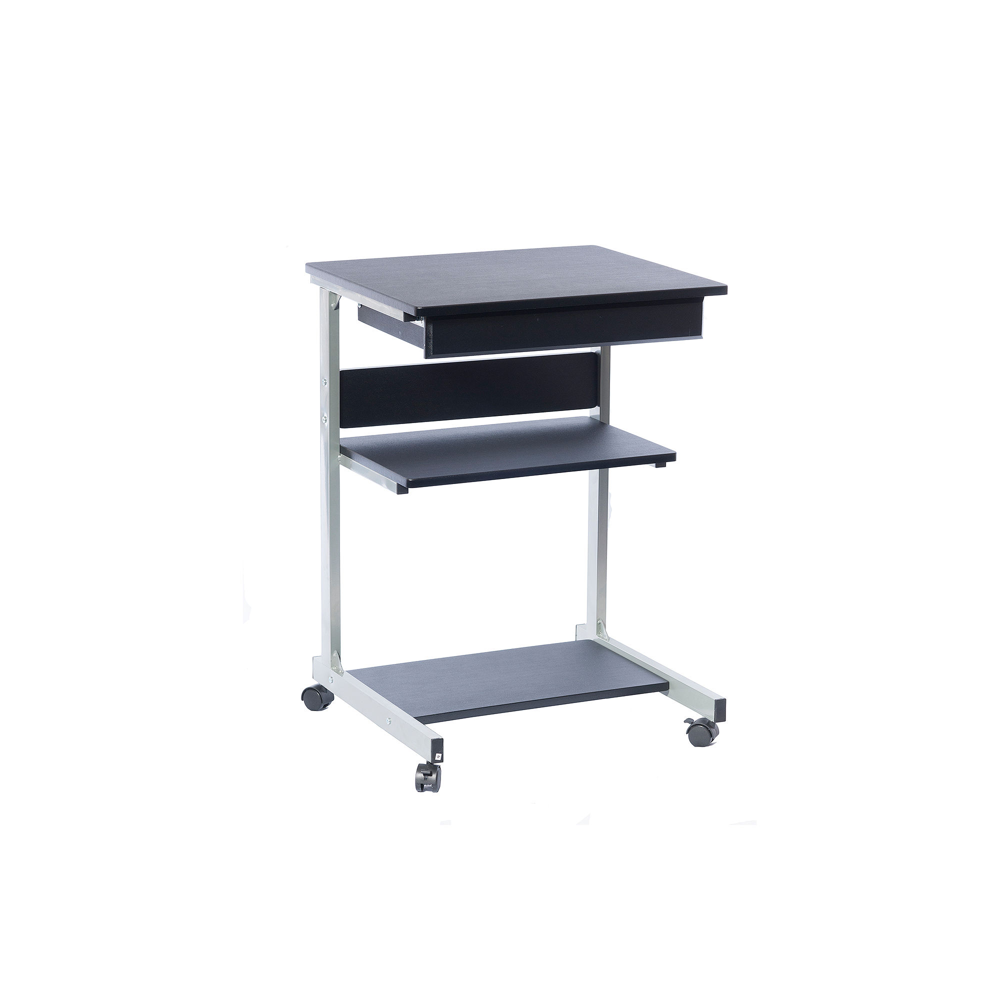 RTA Products LLC Techni Mobili Rolling Laptop Cart With Storage