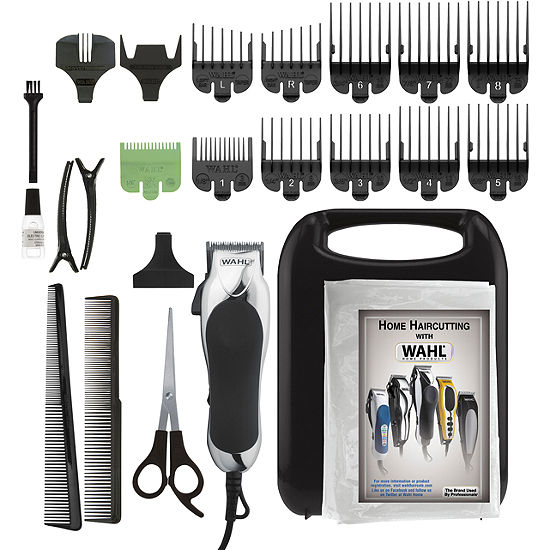 Wahl Chrome Pro 24 Piece Complete Haircutting Kit