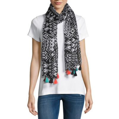 Mixit Tassel Oblong Scarf