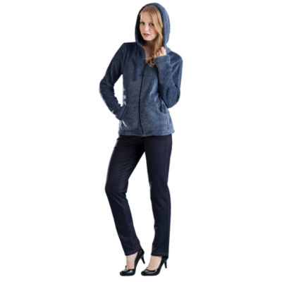 La Cera Fleece Hooded Jacket