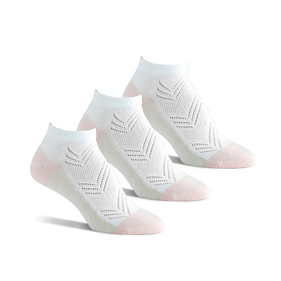 Berkshire Non Binding 3Pk  Low Cut Socks Extended Size  - Womens