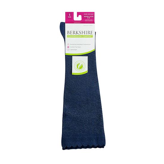 Berkshire Hosiery Compression 1 Pair Crew Socks - Womens