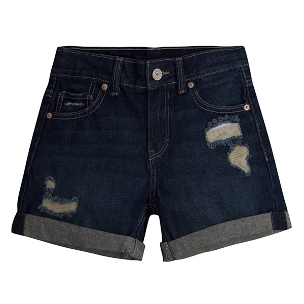 Levi's Girlfriend Shorty Short - Big Kid Girls