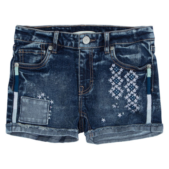 Levi's Embroidered Shorty Short - Big Kid Girls