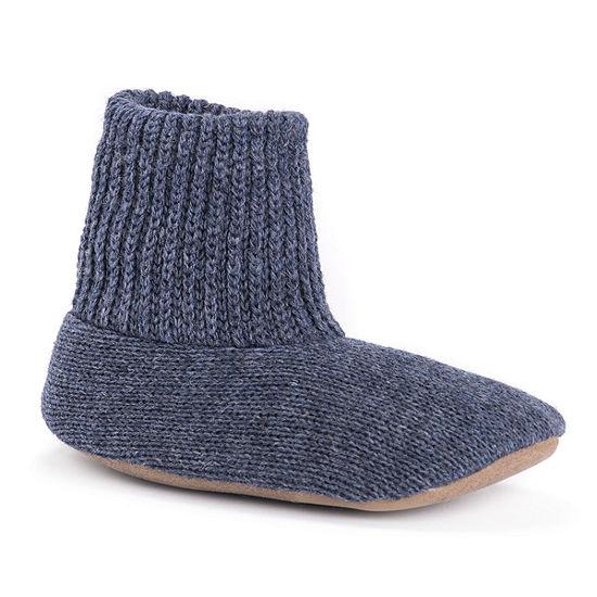 MUK LUKS® Ragg Wool Slipper Sock