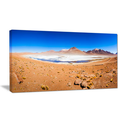 Designart Panoramic View Of Laguna Honda Canvas Art