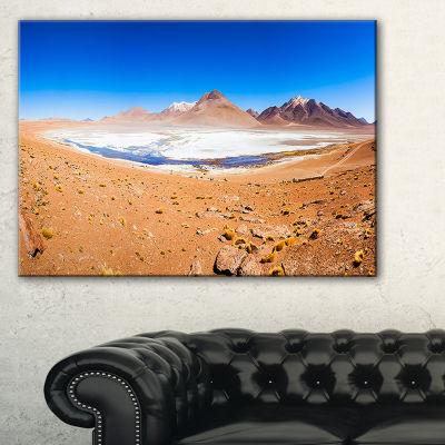 Designart Panoramic View Of Laguna Honda Canvas Art