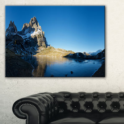 Designart Payrenees Mountains Landscape Canvas Art