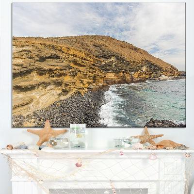 Designart Peninsula Going Beyond The Horizon Canvas Art
