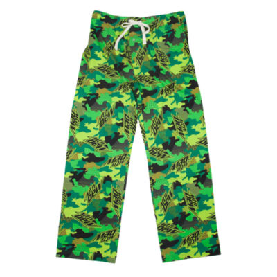 Mountain Dew Men's Jersey Pajama Pants