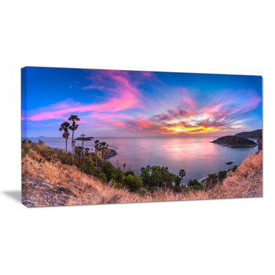 Designart Promthep Cape Best Phuket View Point Canvas Art