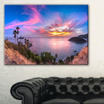 Designart Promthep Cape Best Phuket View Point Canvas Art