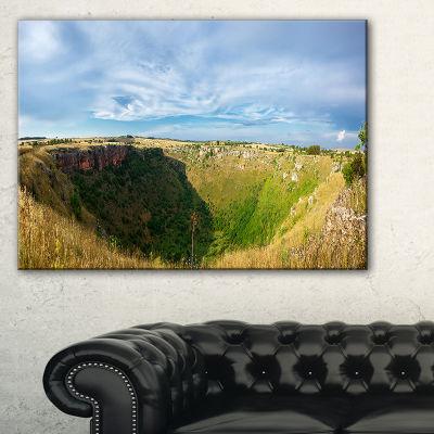 Designart Pulo Di Altamura Panorama Canvas Art