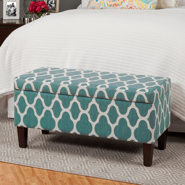 Homepop End Of Bed Storage Bench