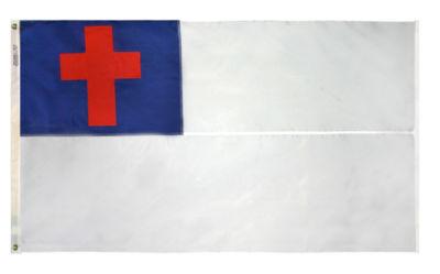Christian Flag 5x8 ft. Nylon by Annin Flagmakers Model 91800