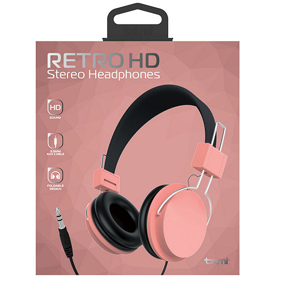 Tzumi Wired Headphones