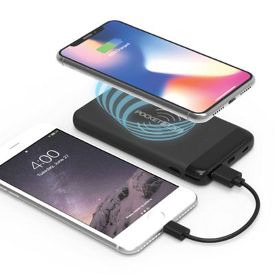 Tzumi 8000 mAh Slim Pocket Juice with Wireless Charging