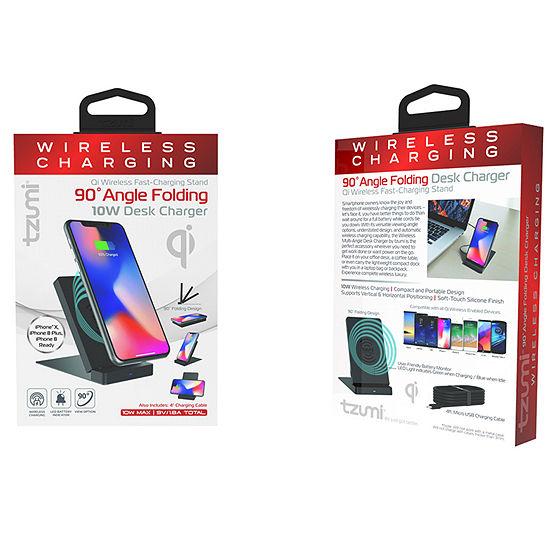 Tzumi Wireless Charging Multi-Angle Desk Mount