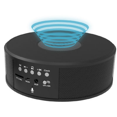 Tzumi Wireless Charging Bluetooth Speaker Clock