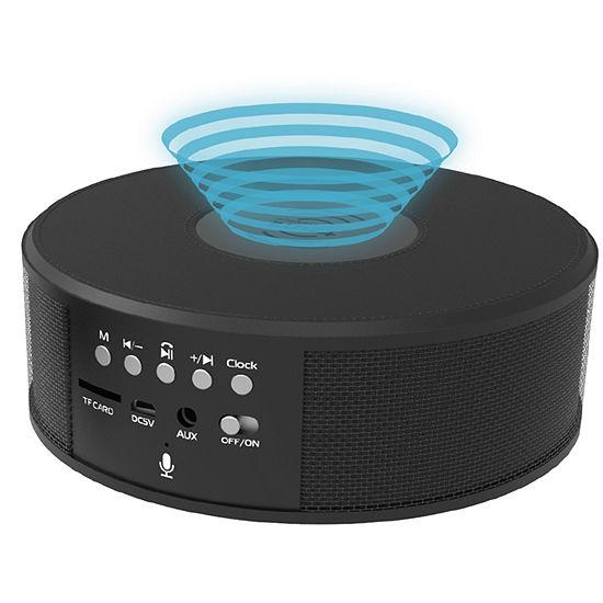 Tzumi Wireless Charging Bluetooth Speaker Clock