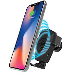 Tzumi Wireless Gravity Car Mount with Wireless Charging