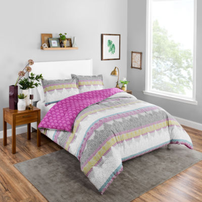 Boho Boutique Margo 3-pc. Reversible Comforter Set