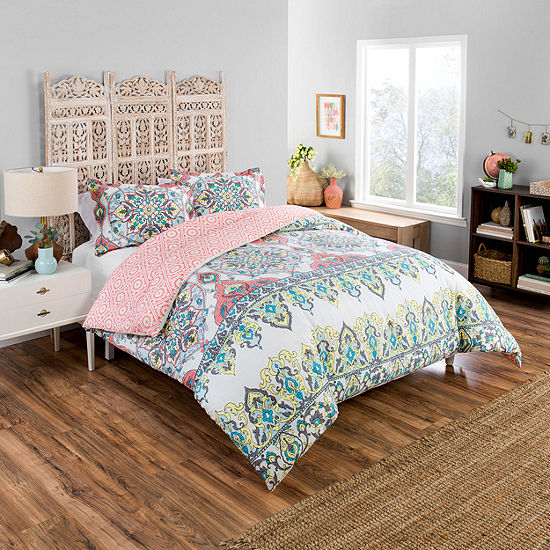 Boho Boutique Rozella 3-pc. Reversible Comforter Set