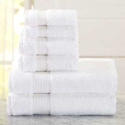 Melanie Collection 6 Piece Turkish Towel Set