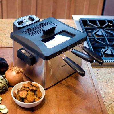Weston 15 Cup Dual Basket Deep Fryer