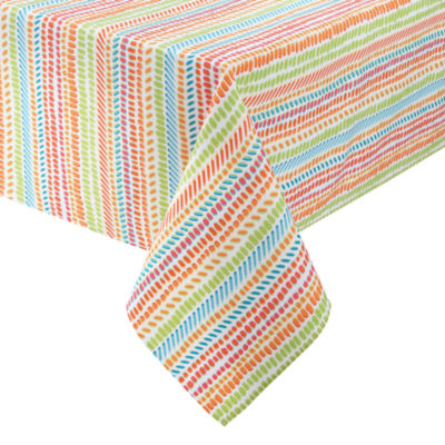 Outdoor Oasis Speckles Tablecloth