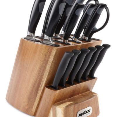 Zyliss Control 16 Piece Knife Block Set 16-pc. Knife Block Set