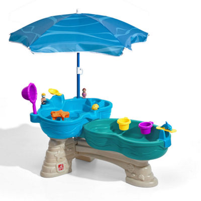 Step2 Spill & Splash Seaway Water Table with Umbrella