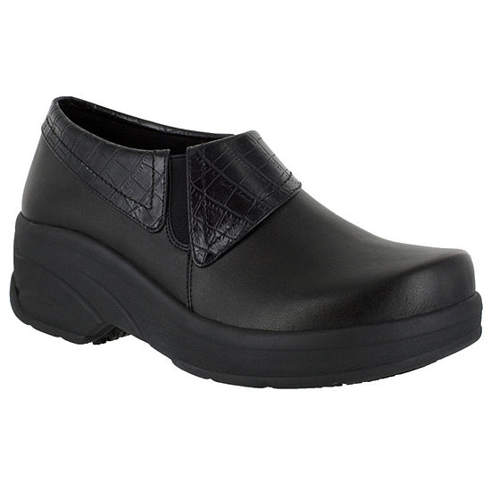 Easy Works By Easy Street Womens Assist Clogs