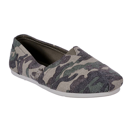 Skechers Bobs Womens Plush-Glam Attack Slip-On Shoe Closed Toe