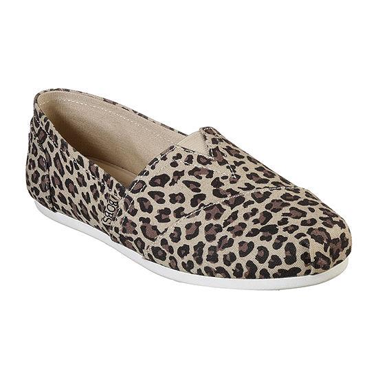 Skechers Bobs Womens Plush Slip-On Shoe Closed Toe